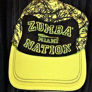 Zumba Green Black Miami Nation Cap
